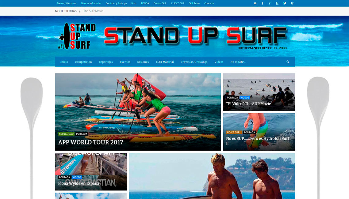 Stand Up Surf